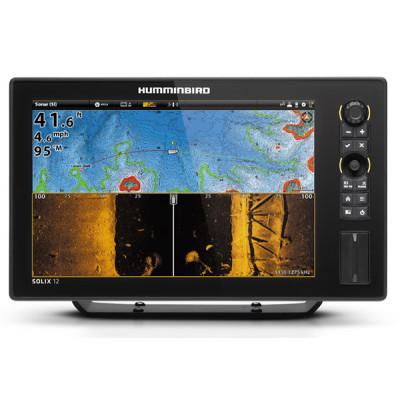 Картплоттер Humminbird solix 12 chirp mega SI GPS